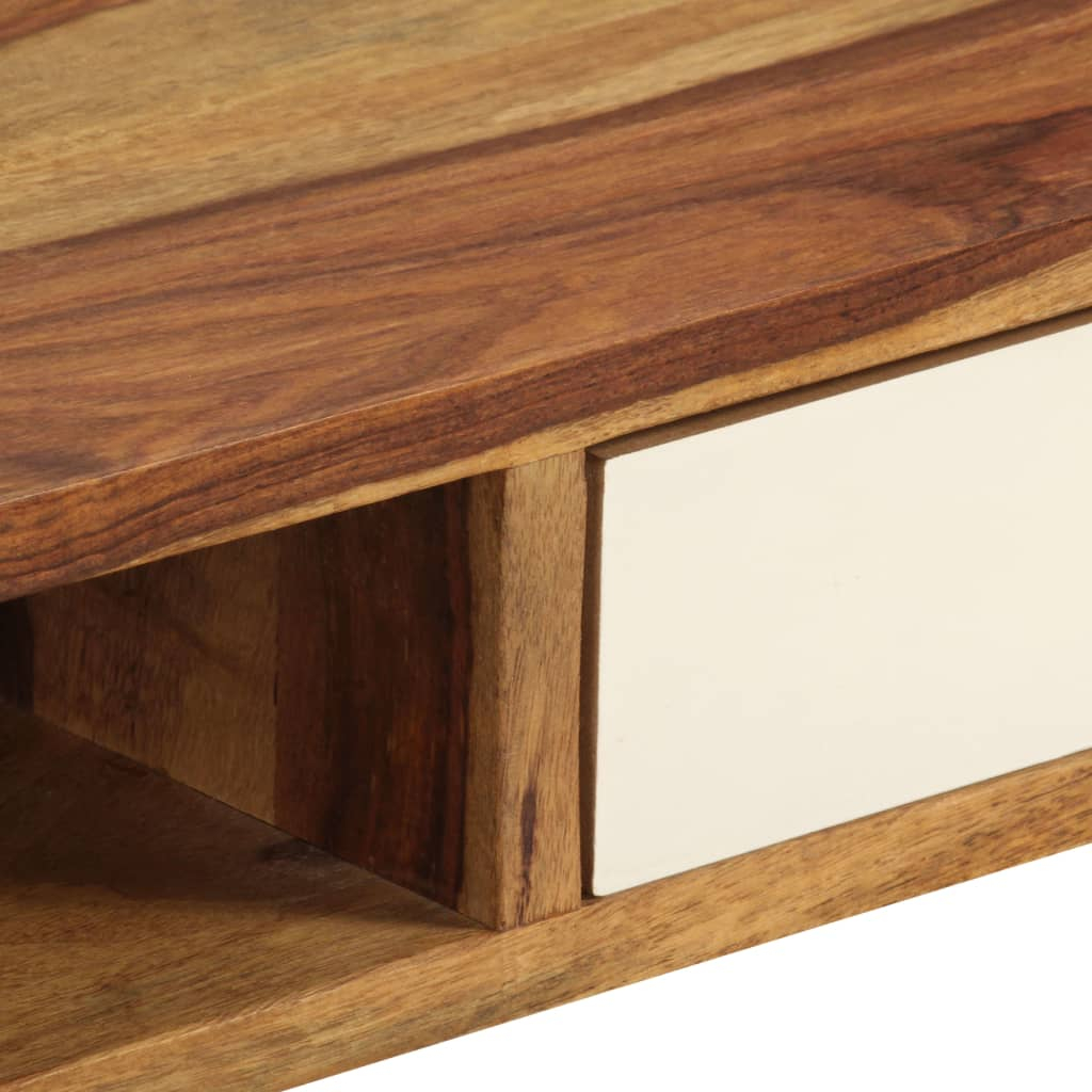 H4home Scandinavian Coffee Table Sheesham Wood Handmade